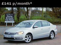"USED 2011 VOLKSWAGEN PASSAT 1.6 S TDI BLUEMOTION TECHNOLOGY 4d 104 BHP FULL SERVICE HISTORY, BLUETOOTH, 16"" ALLOYS, AUX CONNECTION"