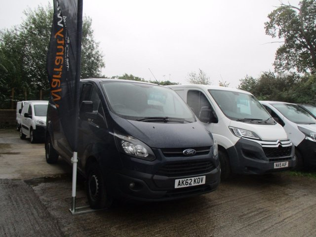 2012 62 FORD TRANSIT CUSTOM 2.2 330 L2 LOW ROOF 125 BHP AIR CON