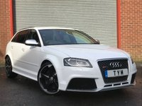 USED 2011 61 AUDI RS3 2.5 QUATTRO 5d AUTO 340 BHP LOW MILES+CLEAN EXAMPLE RS3++SAT NAV