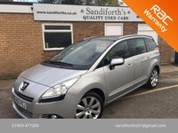 2012 PEUGEOT 5008 2.0 HDI ALLURE 5d 150 BHP FULL GLASS PAN ROOF, 7 SEATER  £7990.00