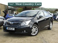 USED 2011 11 TOYOTA AVENSIS 2.2 TR D-CAT 4d 148 BHP Local Father + Son Owners From New