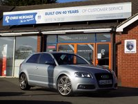 USED 2009 09 AUDI A3 2.0 TDi S LINE SPECIAL EDITION 3dr 140 *ONLY 9.9% APR with FREE Servicing*