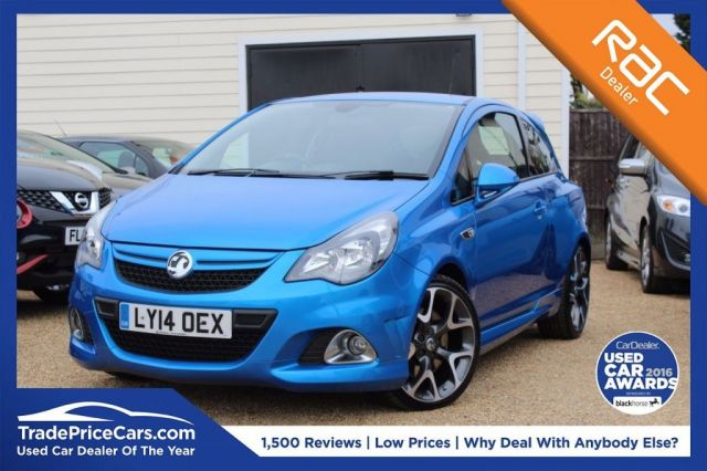 View our 2014 14 VAUXHALL CORSA 1.6 VXR 3d 189 BHP