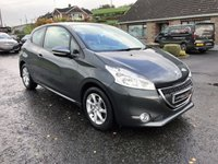 2014 PEUGEOT 208 1.4 HDI DIESEL ACTIVE 3 DOOR  £6750.00