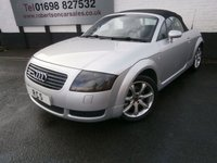 USED 2001 X AUDI TT 1.8 ROADSTER QUATTRO 2dr [225] NICE EXAMPLE OF A FUTURE CLASSIC