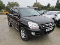 2005 KIA SPORTAGE 2.0 XS 5d 4X4 LEATHER  £3595.00