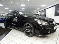 USED 2014 14 MERCEDES-BENZ E CLASS E220 CDI AMG SPORT PLUS AUTO 170 BHP PAN ROOF 1 LADY OWNER COMAND