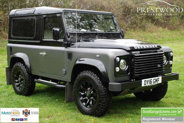 2016 16 LAND ROVER DEFENDER 90 AUTOBIOGRAPHY 2.2 TDCi [150 BHP] STATION WAGON [1 of 100]
