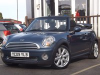 USED 2009 09 MINI CONVERTIBLE 1.6 COOPER 2d 120 BHP Full Service History 6 Stamps, Great spec, Convertible version, Superb fun drive!