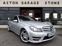 USED 2011 11 MERCEDES-BENZ C CLASS 2.1 C250 CDI BLUEEFFICIENCY SPORT 4d AUTO 202 BHP ** SAT NAV ** ** SAT NAV * PADDLESHIFT * FSH **