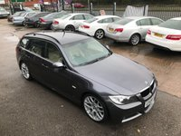 USED 2008 08 BMW 3 SERIES 2.0 320D M SPORT TOURING 5d AUTO 175 BHP