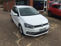 USED 2013 13 VOLKSWAGEN POLO 1.2 MATCH EDITION 5 DOOR 69 BHP IN WHITE WITH 45000 MILES  APPROVED CARS ARE PLEASED TO OFFER THIS VOLKSWAGEN POLO 1.2 MATCH EDITION 5 DOOR 69 BHP IN WHITE WITH 45000 MILES,THIS CARS IN GREAT CONDITION WITH A FULL SERVICE HISTORY AN IDEAL SMALL FAMILY CAR OR FIRST CAR.