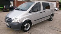 2012 MERCEDES-BENZ VITO 2.1 113 CDI DUALINER 1d 136 BHP AUTO  1 OWNER F/S/H 5 SEATER 2 KEYS //////// £9999.00