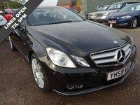 2009 MERCEDES-BENZ E CLASS 3.0 E350 CDI BLUEEFFICIENCY SE 2d AUTO 231 BHP £9390.00