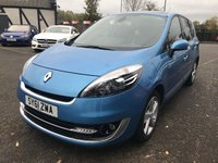 2012 RENAULT SCENIC 1.5 GRAND DYNAMIQUE TOMTOM ENERGY DCI S/S 5d 110 BHP £5990.00