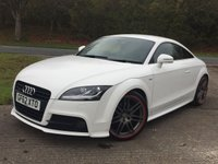 USED 2013 62 AUDI TT 2.0 TDI QUATTRO BLACK EDITION 2d 168 BHP LEATHER 19 ALLOYS NO FINANCE REPAYMENTS FOR 2 MONTHS STC. 4WD QUATTRO. STUNNING WHITE WITH PART BLACK S LINE LEATHER SPORTS TRIM. BODYKIT. 19 INCH GRAPHITE GREY ALLOYS. CLIMATE CONTROL. R/CD CHANGER. 6 SPEED MANUAL. PARKING SENSORS. MOT 10/18. SERVICE HISTORY. TEL 01937 849492