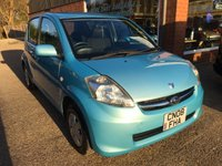 USED 2008 08 SUBARU JUSTY 1.0 R 5 DOOR 69 BHP IN MET BLUE A VERY RARE CAR. APPROVED CARS ARE PLEASED TO OFFER THIS SUBARU JUSTY 1.0 R 5 DOOR 69 BHP IN MET BLUE A VERY RARE CAR WITH ONLY 56000 MILES AND A FULL SERVICE HISTORY A GREAT LITTLE RARE CAR.