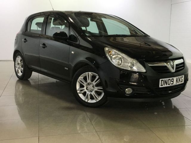 View our 2009 09 VAUXHALL CORSA 1.4 DESIGN 16V 5d 90 BHP