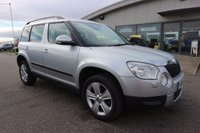 USED 2011 11 SKODA YETI 1.2 SE PLUS TSI 5d 103 BHP LOW DEPOSIT OR NO DEPOSIT FINANCE AVAILABLE.