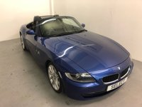 "USED 2007 57 BMW Z4 2.0 Z4 SPORT ROADSTER 2d 148 BHP SAVE £500 THIS WEEKEND AUGUST BLACK TAG EVENT WAS £5999 NOW £5499 !!!!Superb example in Montego blue metallic with black leather-service history-18""alloys,black electric roof,traction control-MUST BE VIEWED"