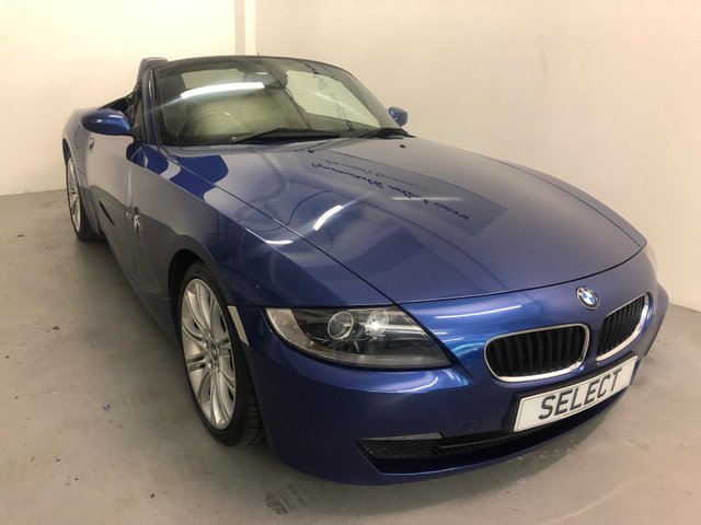 "USED 2007 57 BMW Z4 2.0 Z4 SPORT ROADSTER 2d 148 BHP Save £500 BLACK TAG EVENT WAS £6000 NOW £5500! Superb example in Montego blue metallic with black leather-service history-18""alloys, black electric roof,traction control-MUST BE VIEWED"