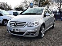 2010 MERCEDES-BENZ B CLASS 2.0 B180 CDI SPORT 5d AUTO 109 BHP £6000.00