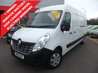 USED 2016 66 RENAULT MASTER 2.3 LM35 BUSINESS PLUS DCI S/R P/V 1d 125 BHP A/C, Bluetooth, DAB