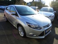 USED 2013 63 FORD FOCUS 1.6 TDCI ZETEC 115 BHP THIS VEHICLE IS AT SITE 1 - TO VIEW CALL US ON 01903 892224