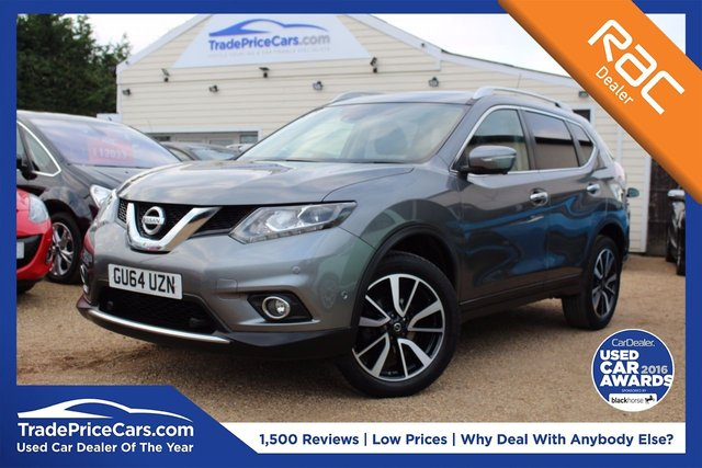 View our 2014 64 NISSAN X-TRAIL 1.6 DCI TEKNA 5d 130 BHP