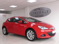 USED 2013 13 VAUXHALL ASTRA 2.0 GTC SRI CDTI S/S 3d 162 BHP Full History, Long MOT (13.6.18), Half Leather Upholstery