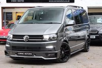USED 2017 67 VOLKSWAGEN TRANSPORTER T6 KOMBI T32 2.0 TDI BMT 150PS HIGHLINE SWB EU6 6 SPEED MY18 SPORT X PACK *** '67' PLATE WITH DELIVERY MILEAGE ***HUGE SPEC*** FULL SPORT X STYLING PACK
