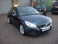 USED 2010 60 VOLVO C30 2.0 D3 SE LUX 3d AUTO 148 BHP ANY PART EXCHANGE WELCOME, COUNTRY WIDE DELIVERY ARRANGED, HUGE SPEC