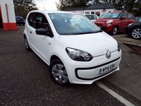 2014 VOLKSWAGEN UP 1.0 TAKE UP 3d 59 BHP £4650.00