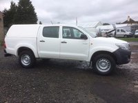 USED 2015 TOYOTA HILUX ACTIVE D-4D 4X4 DCB 15 PLATE