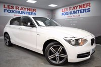 2013 BMW 1 SERIES 2.0 116D SPORT 5d 114 BHP £9999.00