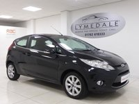 USED 2008 58 FORD FIESTA 1.4 ZETEC 16V 3d 96 BHP Well Maintained, MOT Until 23.10.18, Lovely Looking