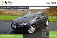 2011 VOLKSWAGEN GOLF 1.6 MATCH TDI BLUEMOTION TECHNOLOGY 5d 103 BHP £5490.00