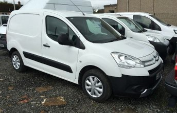 View our CITROEN BERLINGO VAN