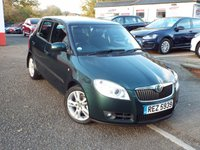 USED 2008 57 SKODA FABIA 1.6 LEVEL 3 16V 5d 103 BHP ONE Owner ONLY 43k
