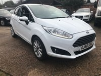 USED 2016 66 FORD FIESTA 1.0 TITANIUM 5dr AUTOMATIC 1 Owner, Full Ford history, Ford warranty.