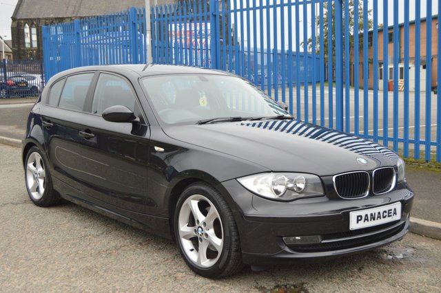 2008 58 BMW 1 SERIES 2.0 118D SE 5d 141 BHP