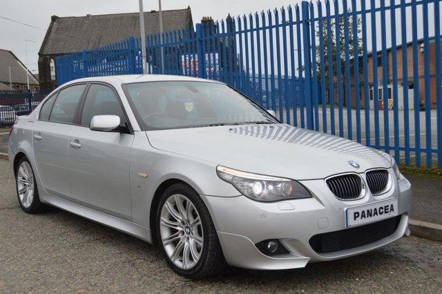 2007 57 BMW 5 SERIES 3.0 525D M SPORT 4d AUTO 195 BHP