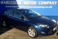 USED 2011 61 FORD FOCUS 1.6 ZETEC 5d 124 BHP 2011 NEW MODEL FORD FOCUS ZETEC 1.6 5 DOOR MANUAL 16 INCH ALLOYS BLUE TOOTH ELECTRIC WINDOWS FRONT SPOTS  SERVICE HISTORY