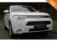 USED 2014 64 MITSUBISHI OUTLANDER 0.0 PHEV GX 4H 5d AUTO 162 BHP A STUNNING HIGH SPECIFICATION OUTLANDER WITH A FULL MITSUBISHI SERVICE HISTORY!!!