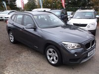 USED 2014 14 BMW X1 2.0 XDRIVE20D SE 5d AUTO 181 BHP SPACIOUS  FAMILY CAR WITH EXCELLENT SERVICE HISTORY, GREAT SPEC, DRIVES SUPERBLY, OUTSTANDING VALUE !!!