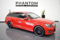 2012 MERCEDES-BENZ C CLASS 3.0 C350 CDI BLUEEFFICIENCY AMG SPORT 5d AUTO 262 BHP £13990.00