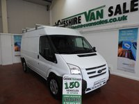 2013 FORD TRANSIT 2.2 350 MWB MED ROOF 125 BHP EX COUNCIL SUPERB CONDITION £8195.00