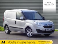 USED 2014 64 VAUXHALL COMBO VAN 1.2 2000 L1H1 CDTI SPORTIVE 1d 90 BHP FULL SERVICE HISTORY, AIR CON