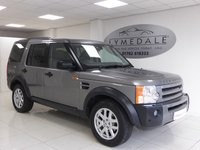 2007 LAND ROVER DISCOVERY 2.7 3 TDV6 XS 5d 188 BHP £9995.00