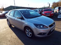 USED 2008 58 FORD FOCUS 1.6 ZETEC 5d AUTO 100 BHP SERVICE HISTORY